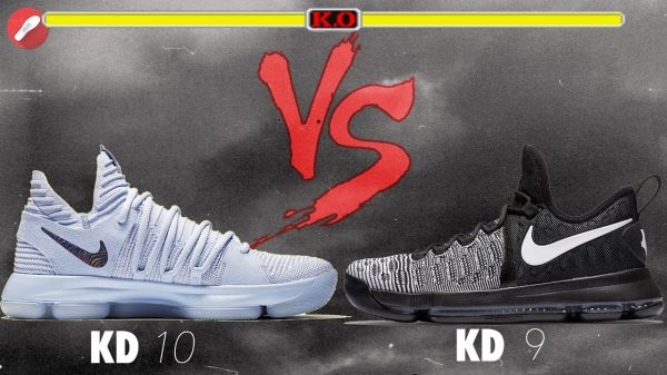 Nike Zoom KD 9 vs KD 10 Comparison