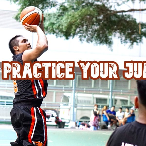 Basketball jumpshot practice